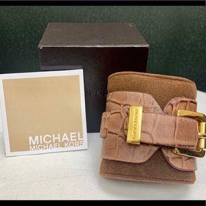 Michael Kors Leather Cuff